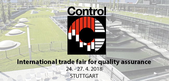 Visit us at the Control 2018 exhibition